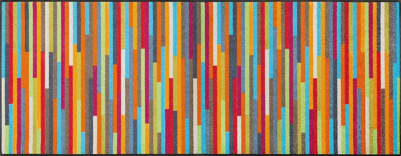 wash + dry - Tapis Mikado Stripes 75x190 - Coloré