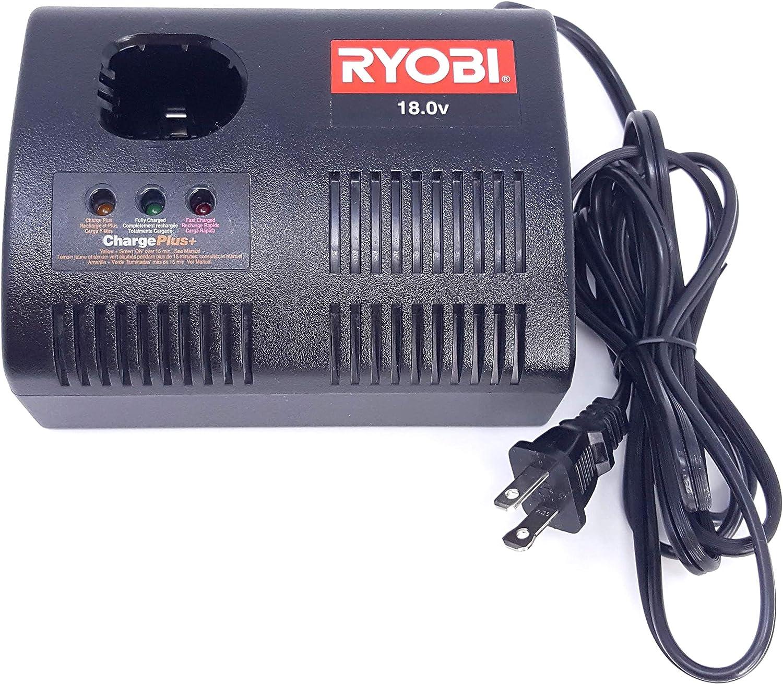 Ryobi 18V ChargePlus Fast Charger No. 1423701
