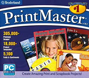 Broderbund PrintMaster Version 18.1