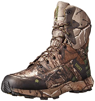 4a058d9bef8 Rocky Men's 8 Inch Broadhead 400G Hunting Boot