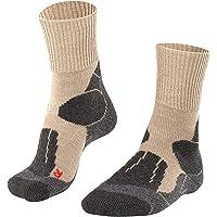 FALKE Heren wandelsokken TK1 met wol, versterkte trekkingsokken zonder patroon met middelsterke bekleding, lang en warm…