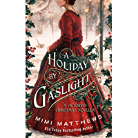 A Holiday By Gaslight: A Victorian Christmas Novella book cover