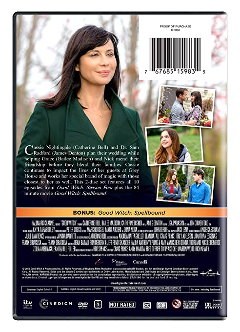 Amazon com: The Good Witch: Season Four: Catherine Bell, Bailee