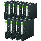 Noname 15039840S Dossier 50pour DIN A4, largeur de dos 50mm, étroit, noir