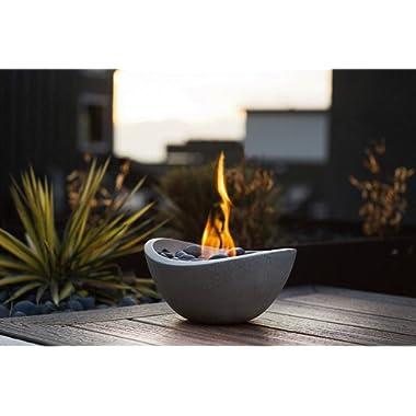 Terra Flame OD-TT-WAV-BGE-03N Fire Bowl, Stone