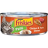 Purina Friskies Pate Wet Cat Food - (24) 5.5 oz. Cans