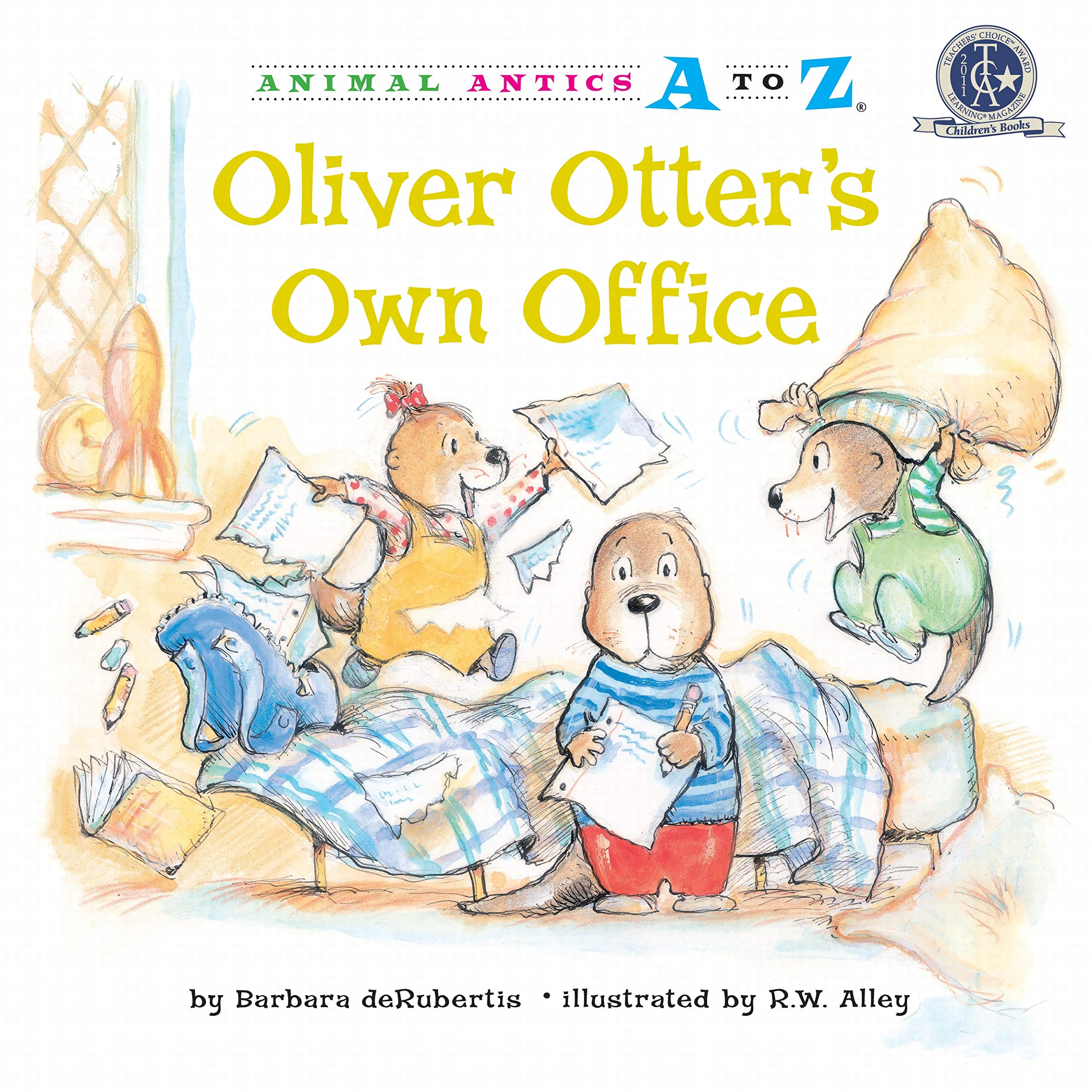 Oliver Otter's Own Office (Animal Antics A to Z) ebook