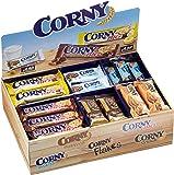 Corny Thekendisplay, verschiedene Sorten, 69 Einzelriegel