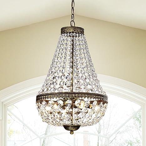 Symmetric 6 light antique copper chandelier amazon symmetric 6 light antique copper chandelier aloadofball Choice Image