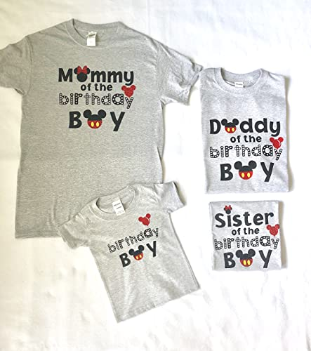 Amazon Disney Birthday Shirts Handmade