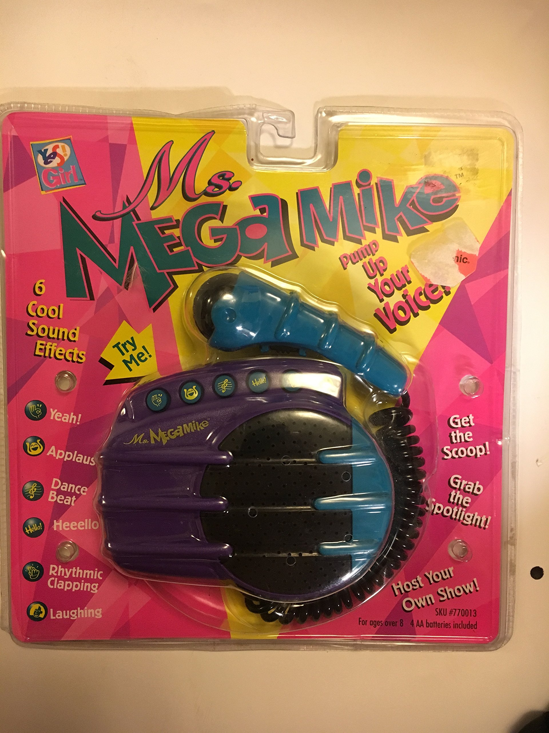 Ms. Mega Mike Portable Microphone System by Yes Girl! 6 Cool Sound Effects by Yes Girl (Image #1)