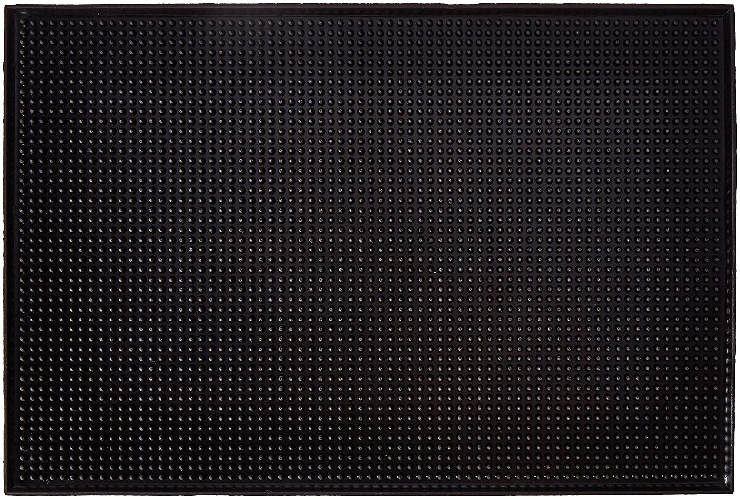 New Star Foodservice 48421 Rubber Bar Service Mat, 12-Inch by 18-Inch