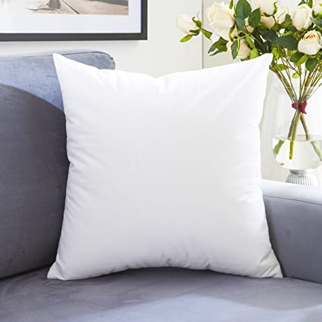 home brilliant ultra soft short plush velvet solid decorative toss throw pillow cover for couch
