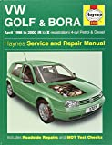 Volkswagen Golf and Bora Petrol and Diesel (1998-2000) Service and Repair Manual (Service & repair manuals)