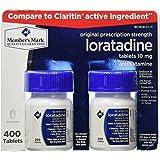 Members Mark, Loratadine 10mg, 400 Tablets (Compare To Claritin)