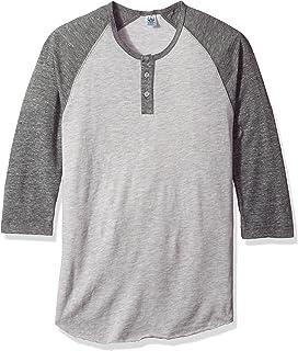 793c4761 Amazon.com: Alternative Men's Big League Burnout Baseball Tee: Clothing
