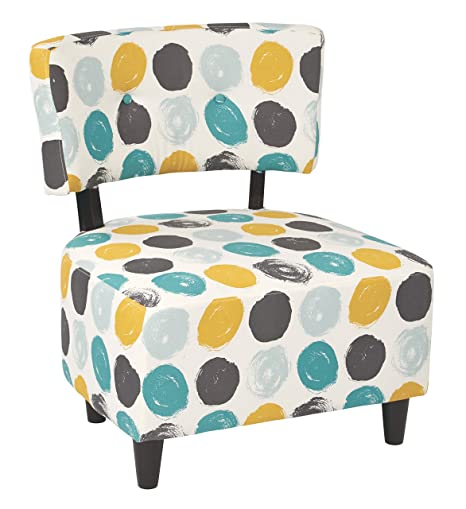 Amazing Ave Six Boulevard Upholdered Accent Chair With Wood Legs Brushed Dot Peacock Machost Co Dining Chair Design Ideas Machostcouk