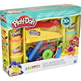 Play-Doh Toy - Fun Factory Deluxe Playset - Include 6 Tubs of Play Doh Modelling Compound
