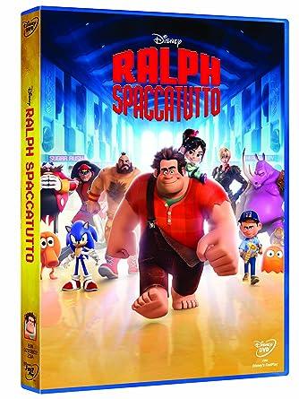 ralph spacca internet dvd  Ralph Spaccatutto: : Cartoni Animati: Film e TV
