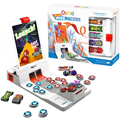Osmo - Hot Wheels MindRacers Game Kit for iPad - Ages 7 + - Race a Real Hot Wheel On Screen - (Osmo iPad Base Included): Toys & Games