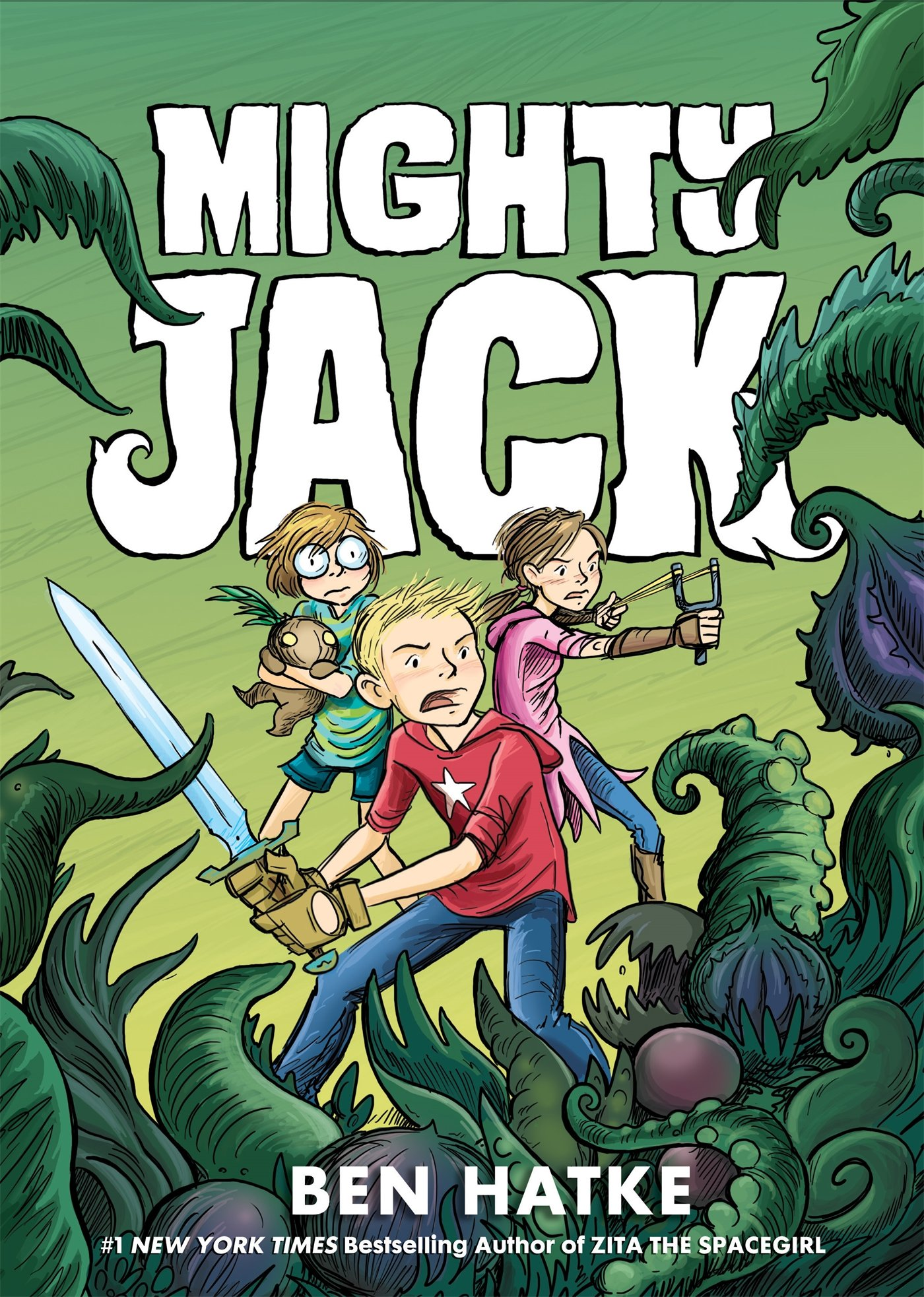 Amazon.com: Mighty Jack (Mighty Jack (1)) (9781626722644): Hatke ...