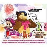 Masha e o Urso: Colorindo com Adesivos Especial