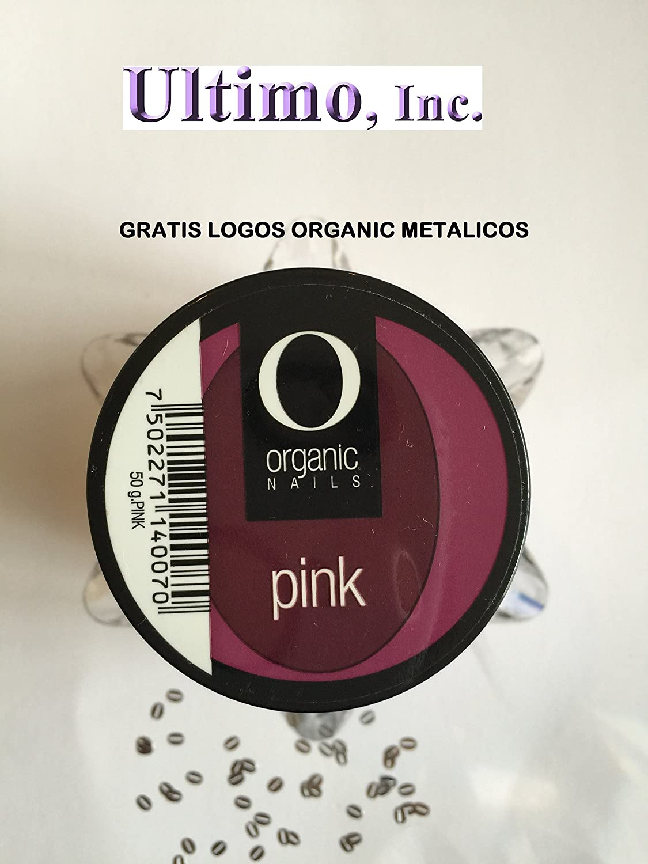 Amazon.com: Acrylic Nail Powder - Pink (50g) Gratis Logo Organic: Beauty