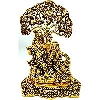 Jaipuri haat Main Door Gold Plated Right Turn Trunk Ganesha Decorative Gift Item