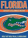 NCAA Florida Gators Unisex Adult Coloring Bookncaa Adult Coloring Book, Blue, 96 Coloring Pages
