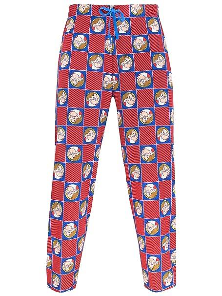 Disney Gruñón pantalones de pijama para Hombre Grumpy Small