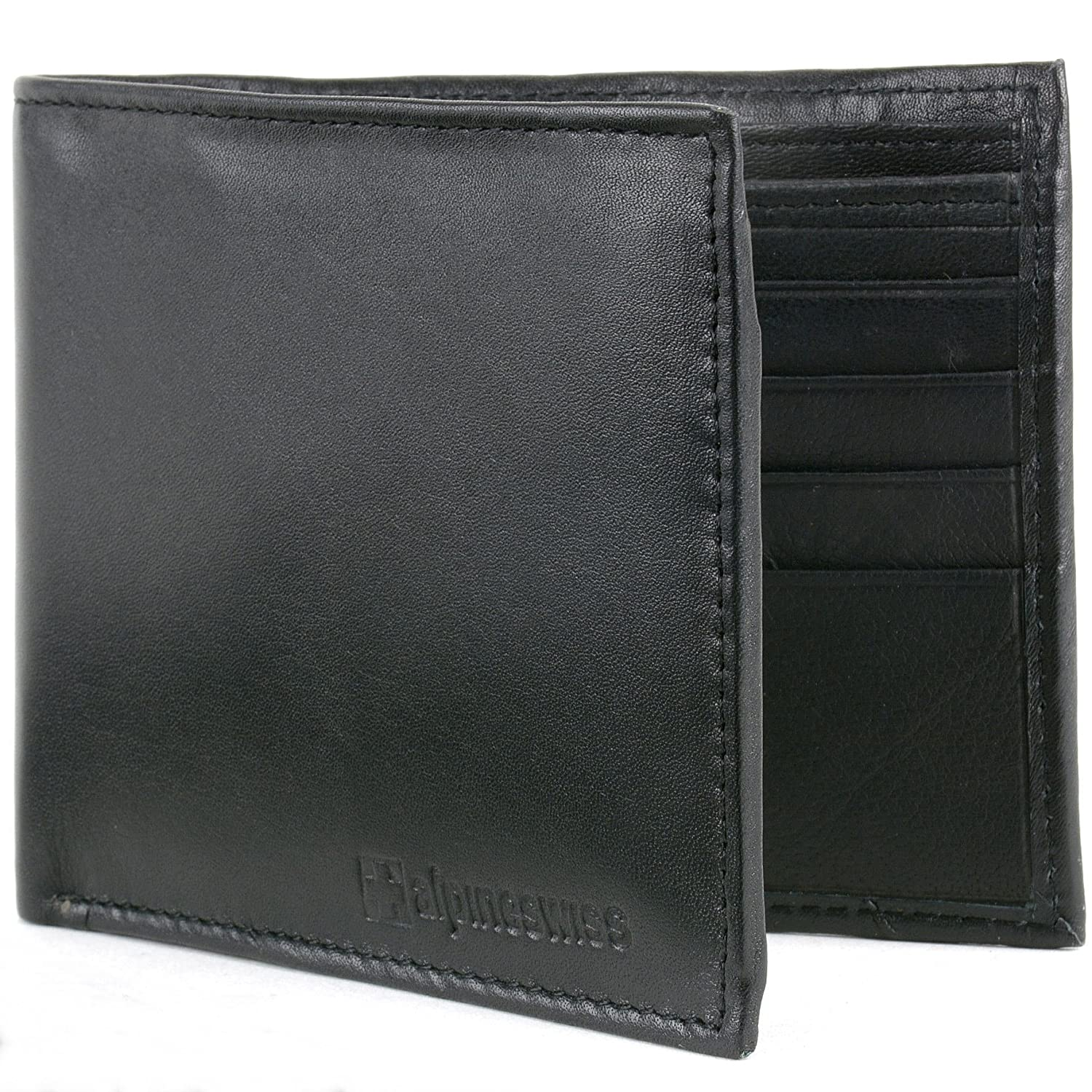 Alpine Swiss Mens Leather Wallets Money Clips Card Cases 6 Top Models To Choose By Alpine Swiss