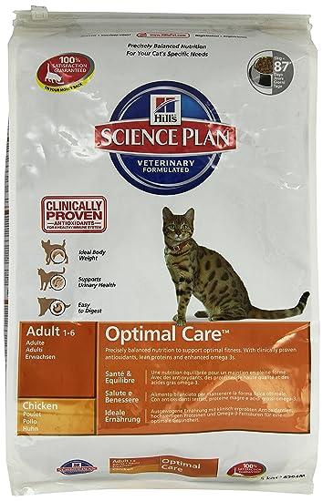 Hill`s Science Plan Alimento con Sabor a Pollo para Gatos Adultos - 2 kg: Amazon.es: Productos para mascotas