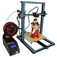 Creality CR-10S Kit d'Imprimante 3D (Version Améliorée) Kit de Bricolage avec 1.75mm Filament / 0.4mm Buse/Vis sans Fin Double/Lit chauffé/Filament de Test Haute Précision
