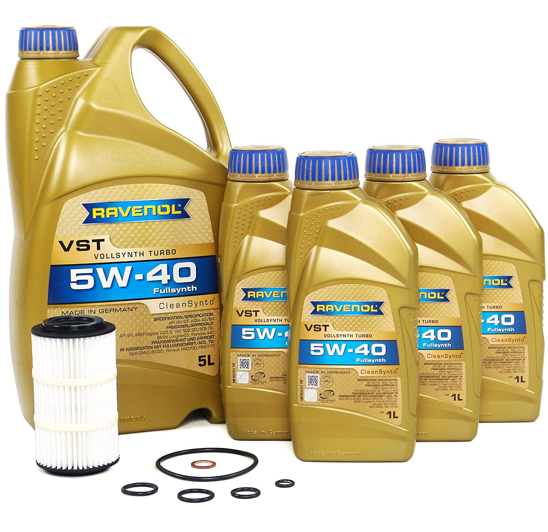 Blau j1 a7011-j Mercedes Benz e350 , glk350 , ml350 , r350モーターオイル変更キット – 2003 – 11 W / 6円柱3.5 Lガソリンエンジン – 5 W40 B01N3Q0G9R
