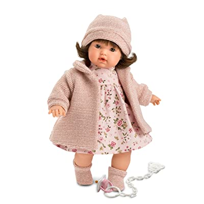 "Llorens LL33328 13"" Baby Victoria Crying Doll, Multiple: Toys & Games"
