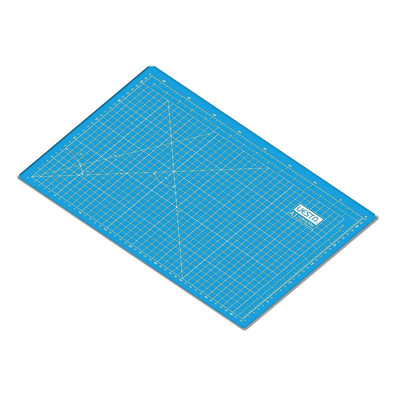 Grigio UESTA A3 Tappetino da Taglio 5 Strati PVC Cutting Mat Tappetini per Taglio 450 x 300 mm