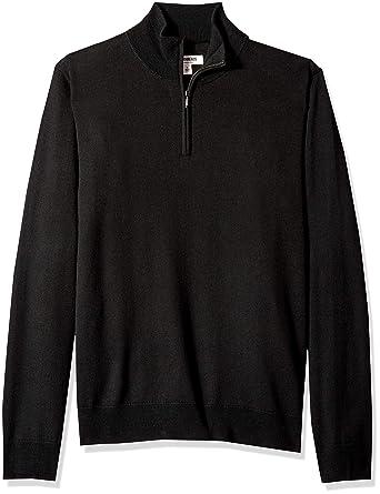 fdbd47c07 Amazon.com: Amazon Brand - Goodthreads Men's Merino Wool Quarter Zip ...
