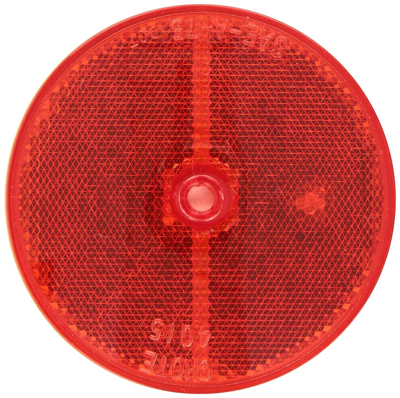 GROTE 40152レッドSealed center-mount Reflector B0006GARR4
