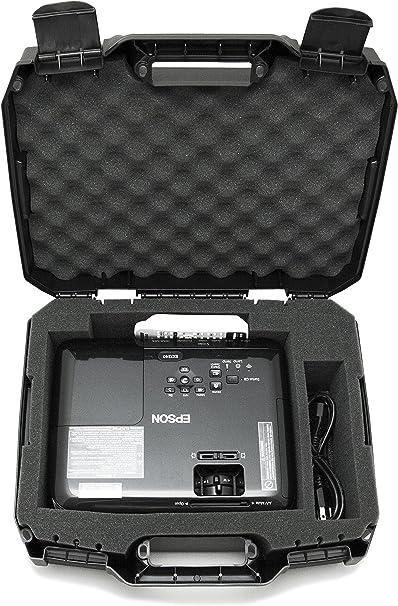 casematix Proyector Estuche de Viaje diseñado para Epson vs250 ...