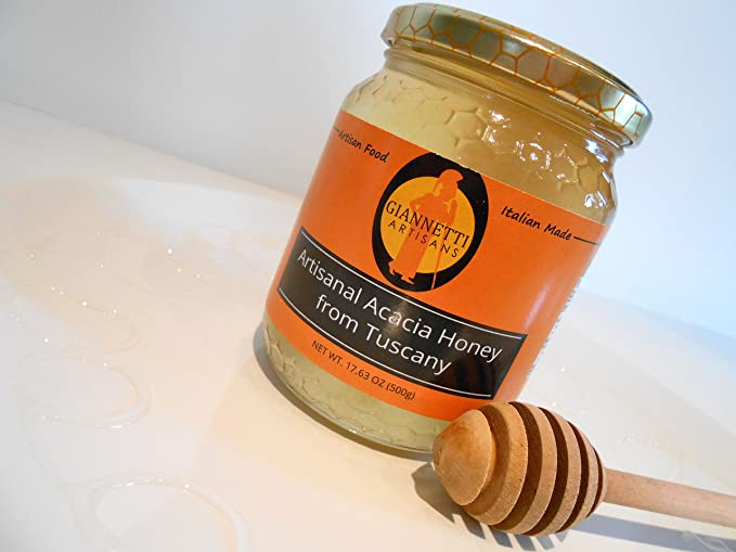 Giannetti Artisans Artisanal Acacia Honey from Tuscany (500 gr): Amazon.es: Alimentación y bebidas