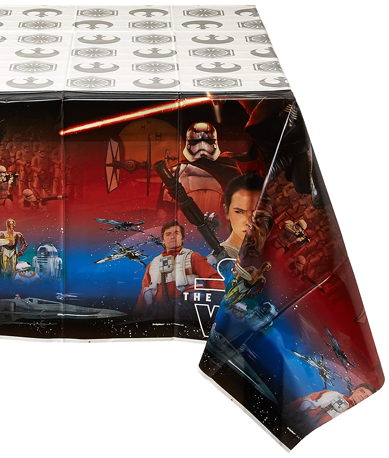 Party Favor Amscan Star Wars Episode VII Plastic Table Cover TradeMart Inc 6 Ct 571506