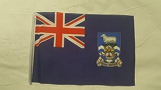 Mini bandiera isole Falkland–(22,9x 15,2cm)