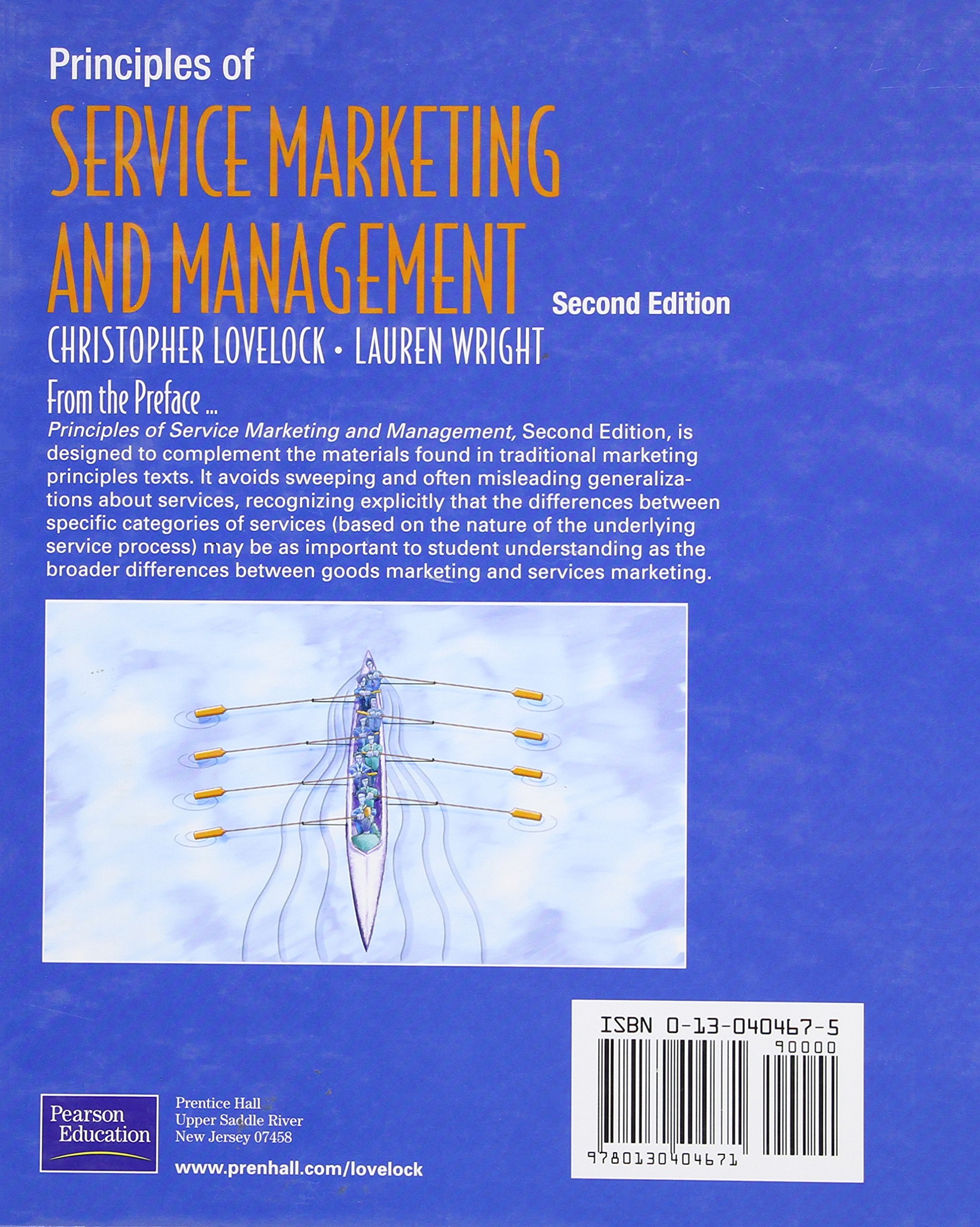 amazon principles of service marketing and management 2nd edition