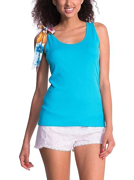 Desigual Parte Arriba Pijama Mandala Azul L/XL