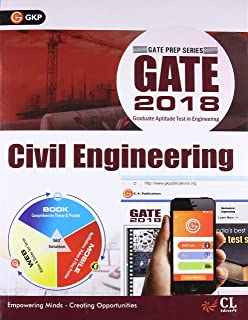 GATE - Civil Engineering (2018) Fifteenth Edition price comparison at Flipkart, Amazon, Crossword, Uread, Bookadda, Landmark, Homeshop18