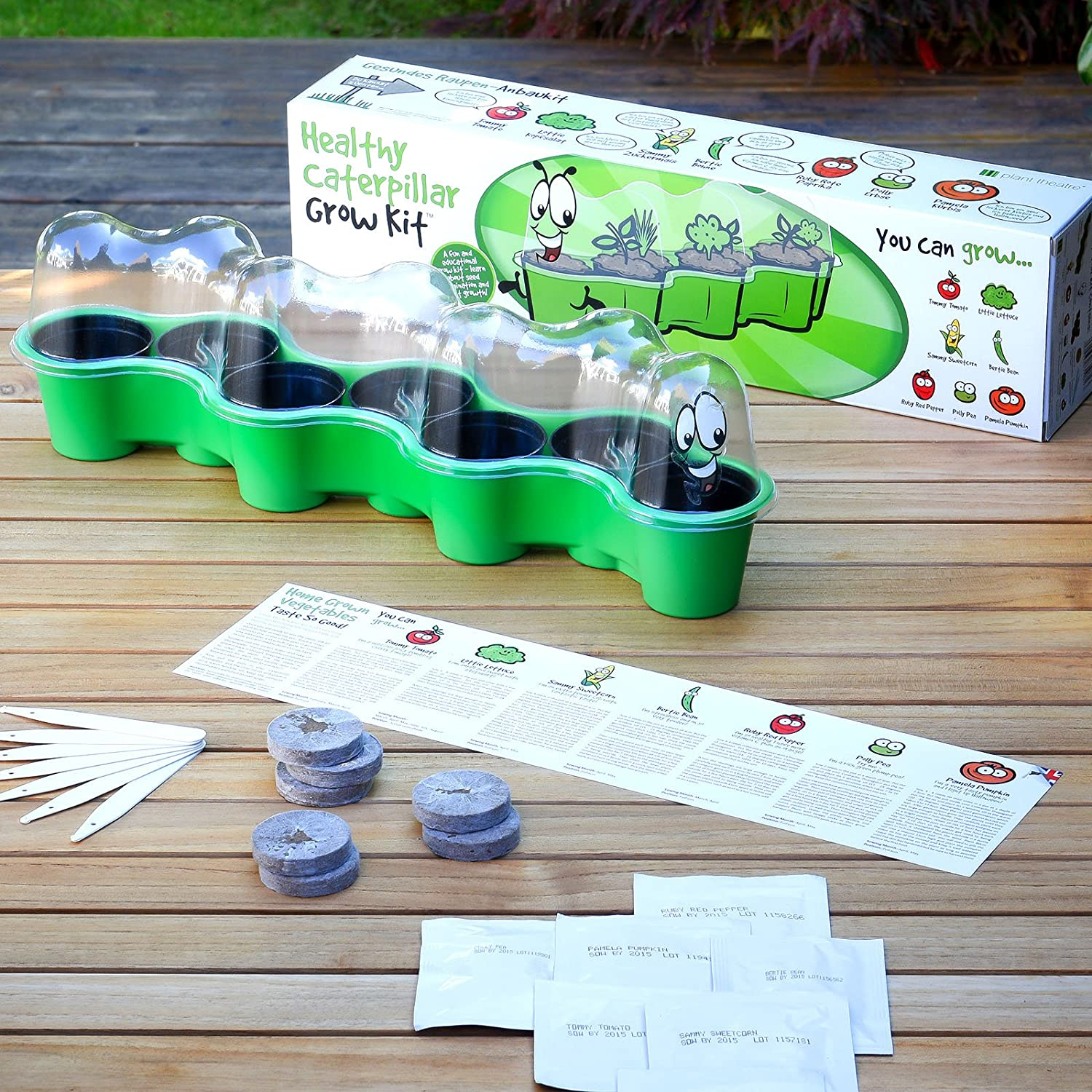 Plant Theatre PT/Caterpillar - Kit de Cultivo en casa, Color ...