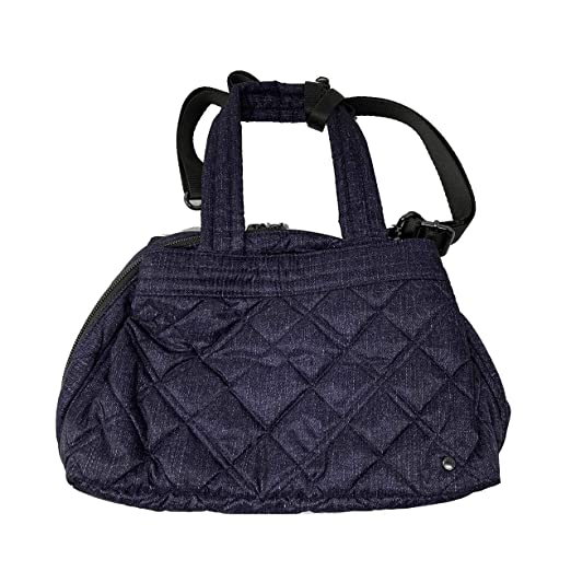 a719a4784a62 Amazon.com: LeSportsac City Small Mercer Tote (Ink Denim Quilted): Clothing