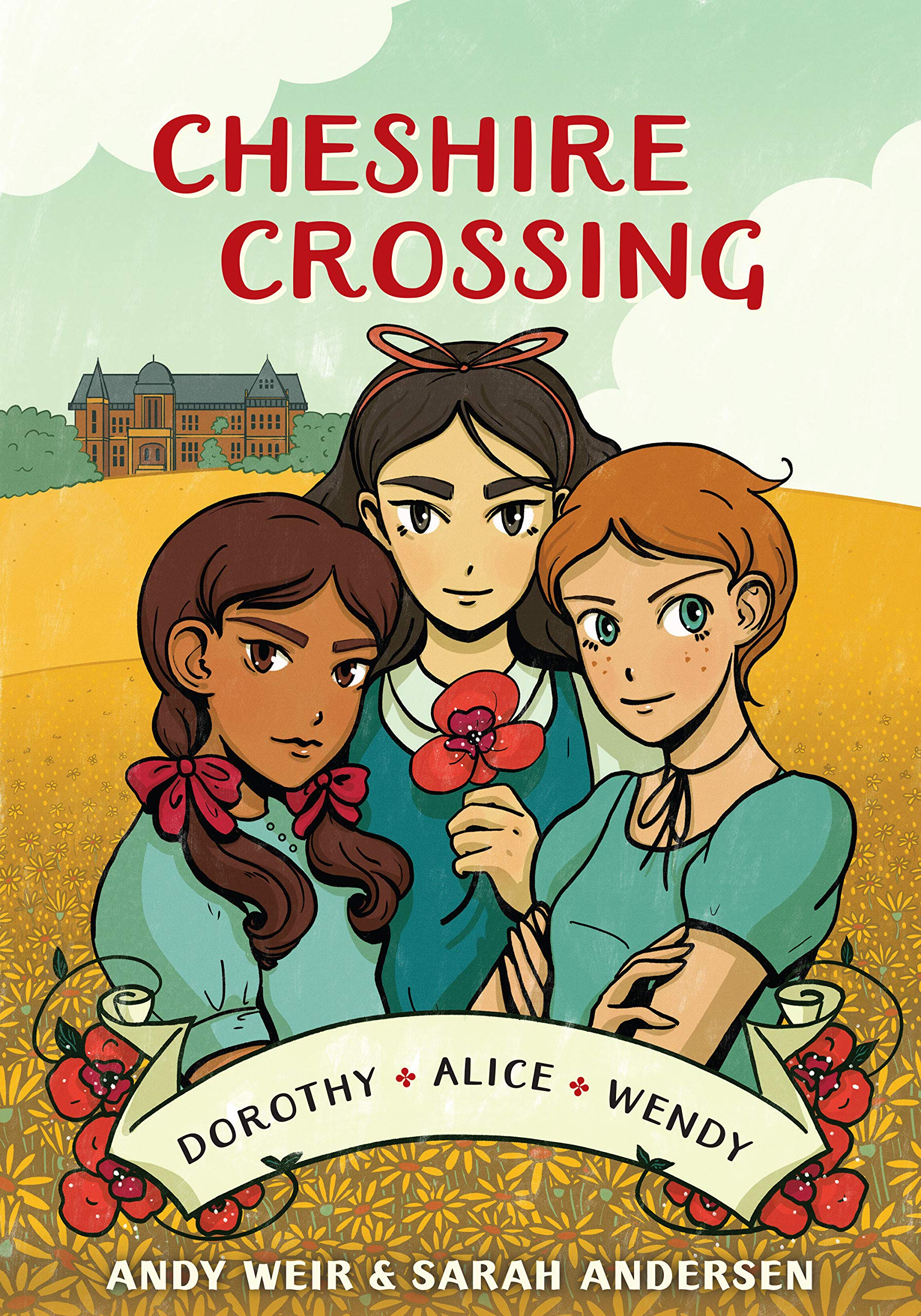 Amazon.com: Cheshire Crossing: [A Graphic Novel] (9780399582073): Weir, Andy, Andersen, Sarah: Books