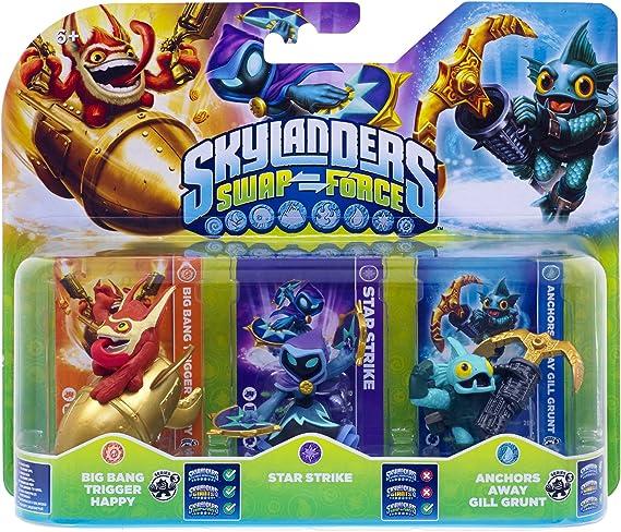 Skylanders: Swap Force - Triple Pack C: Amazon.es: Videojuegos