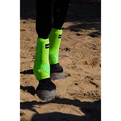 Sampson Horse Boots Set of 4,Multi-Purpose Horse Sports Boots with Shock-Absorbing Memory Foam,Superior Protection and Comfortable Fit
